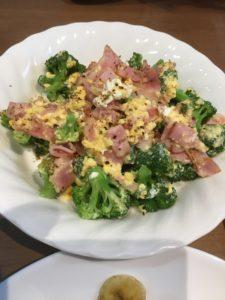 自作の卵料理