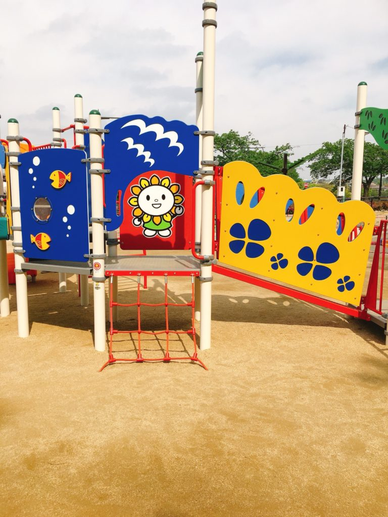 城山公園(尾張旭市)の遊具