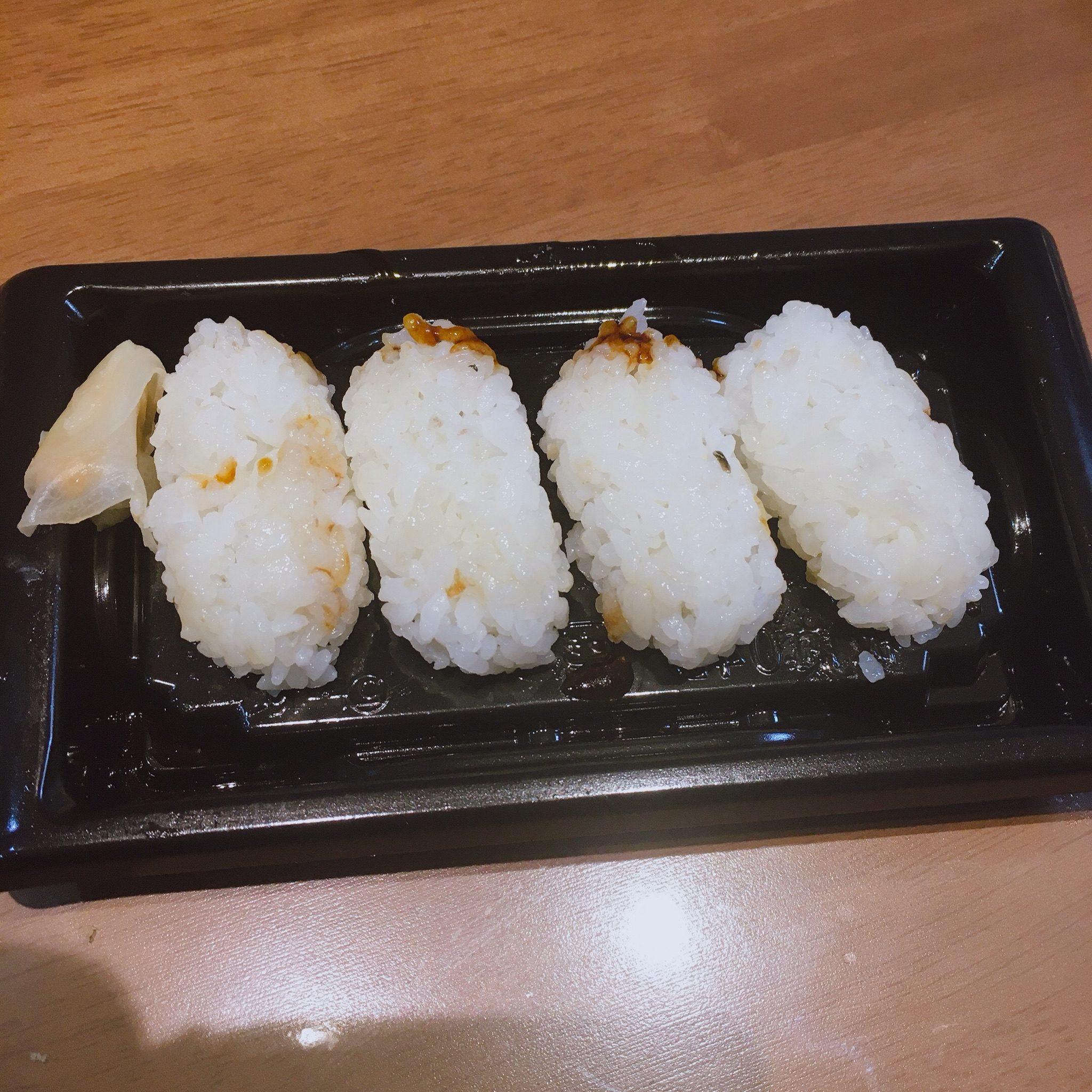 穴子の握り寿司