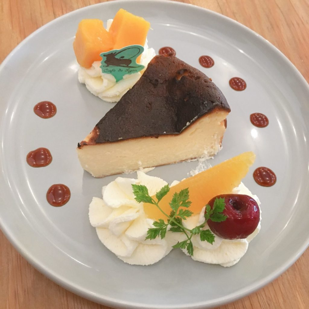 Cafe de Lyon Paletteのケーキ