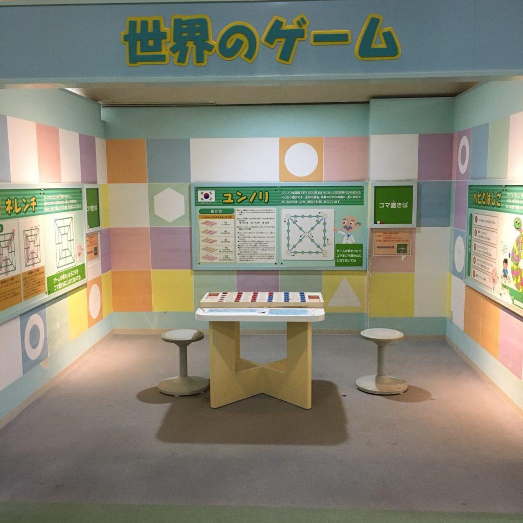 豊田地域文化広場の室内遊具(世界のゲーム)