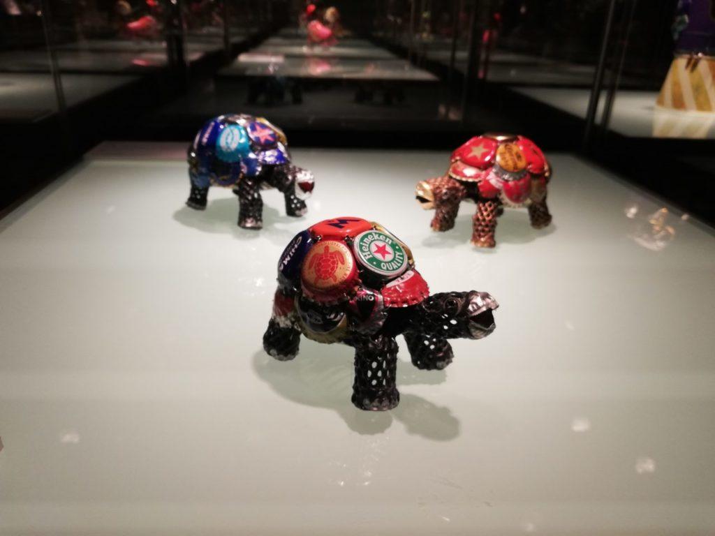 ヤマザキマザック美術館のスクラップワールド