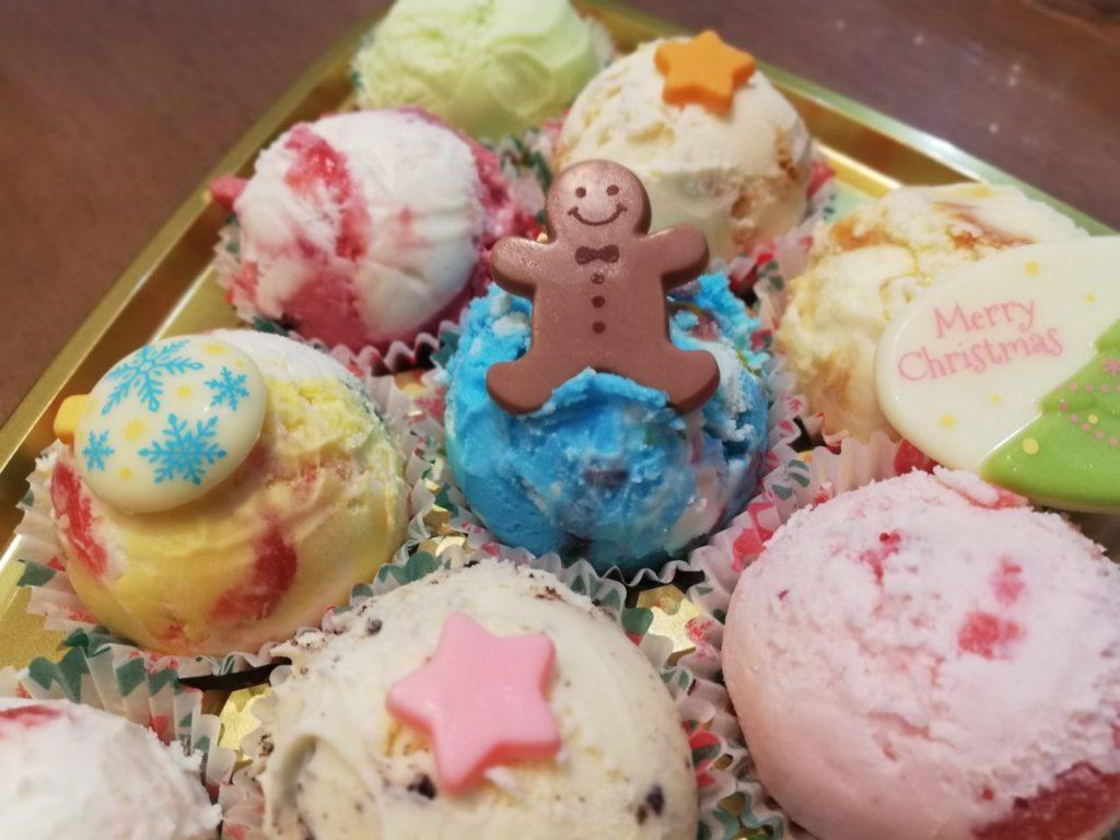 サーティワンアイスクリームのクリスマスツリーバラエティパック