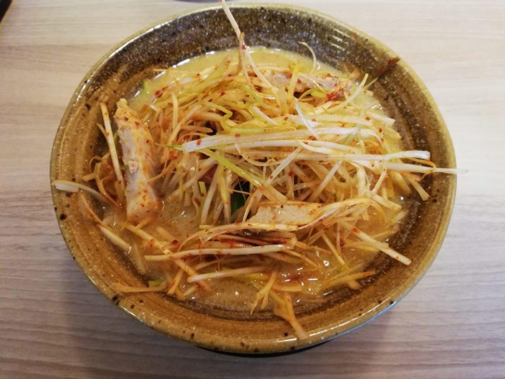 麺屋壱正のラーメン