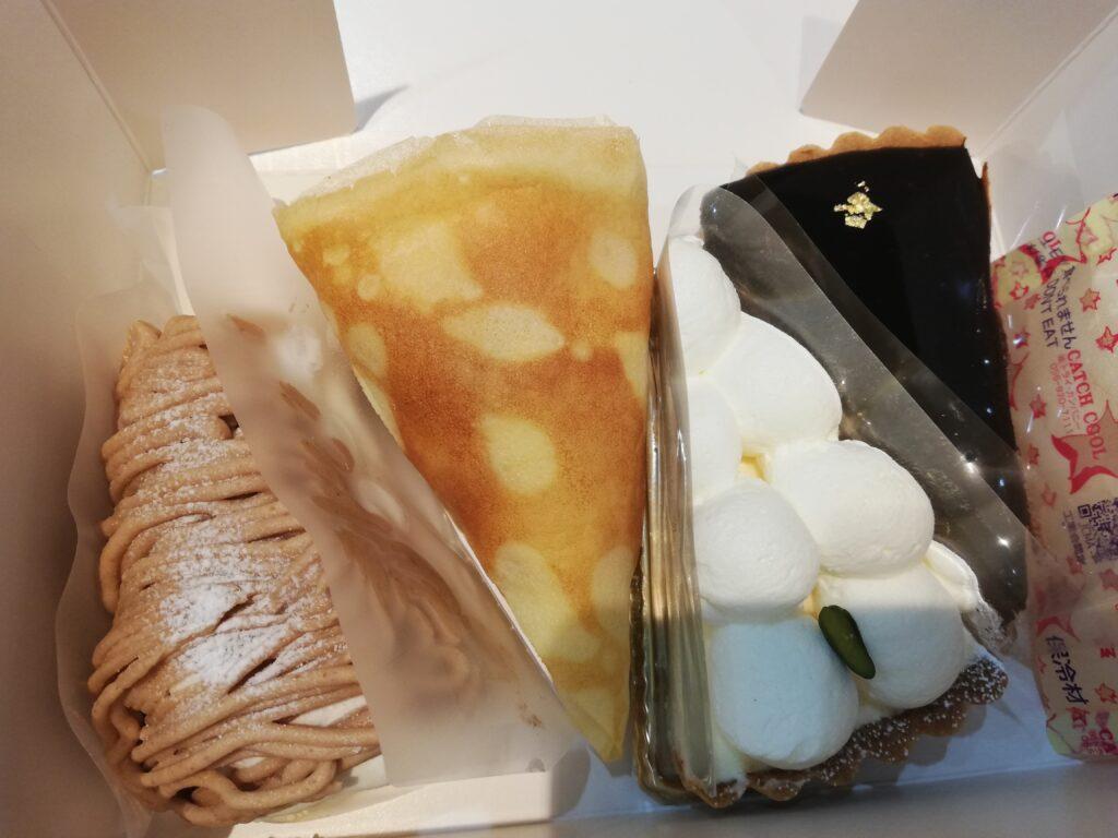 カフェドリブランのケーキ
