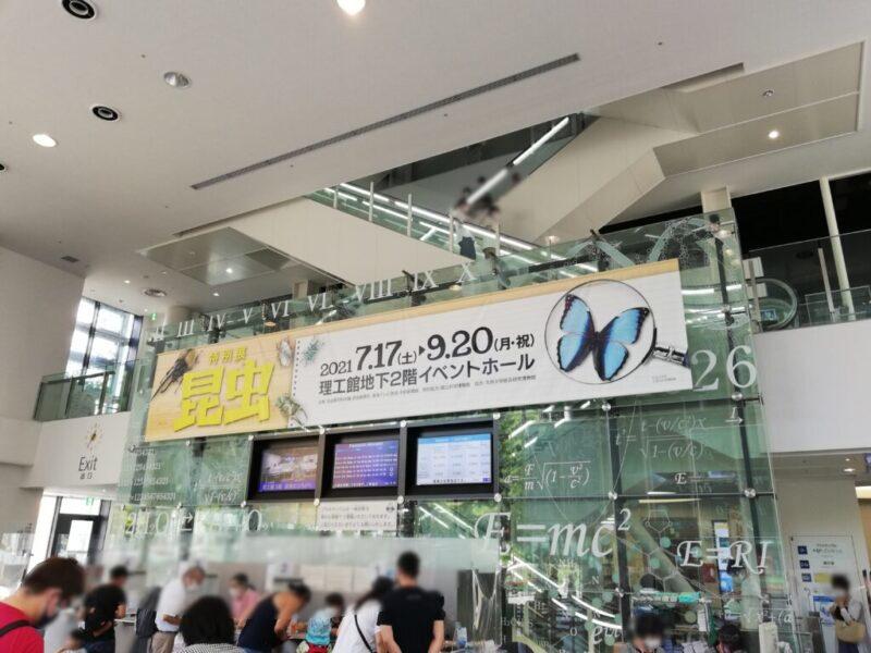 名古屋市科学館の特別展(昆虫)